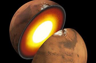 Endelig skal forskerne få svar. Hva er egentlig inni Mars?
