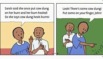 Lærer barn å tenke kritisk om helse