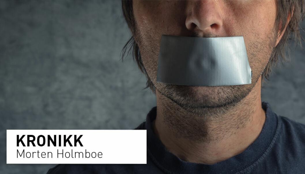 – Det er lett å forsvare den faglige friheten for seg selv, og for andre forskere som uttaler seg faglig grundig og kommer til konklusjoner man selv er bekvem med. Men også de andre har ytringsfrihet, skriver kronikkforfatteren. (Illustrasjonsfoto: Shutterstock / NTB Scanpix)