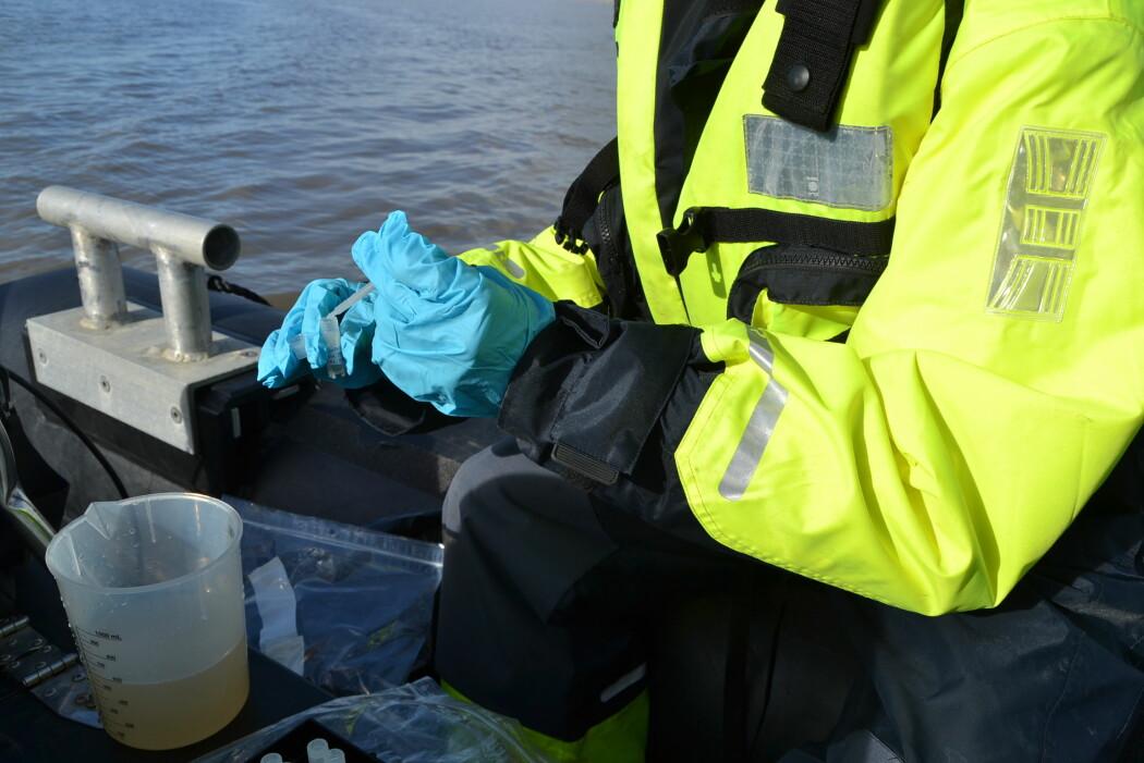 Ved å lagre prøver fra land, vann og dyr kan fremtidens forskere løse mysterier vi ikke har verktøyene til å gjøre noe med i dag. (Foto: Pernilla Carlsson)