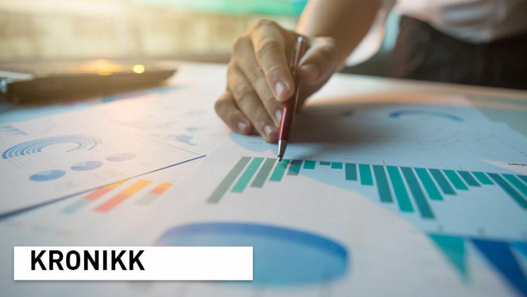 – Kyndig og nøktern framstilling av statistikk vil gi oss nyttige historier og lure tall - i stedet for tall som lurer oss, skriver kronikkforfatterne. (Illustrasjonsfoto: Shutterstock / NTB Scanpix)
