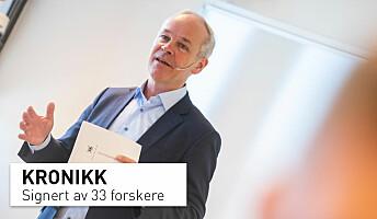 La elevene bli rustet til å møte de store samfunnsutfordringene, Jan Tore Sanner!