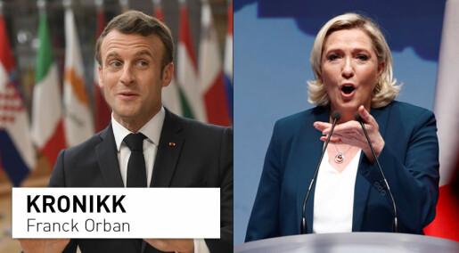 Frankrike splittes i to etter EU-valget