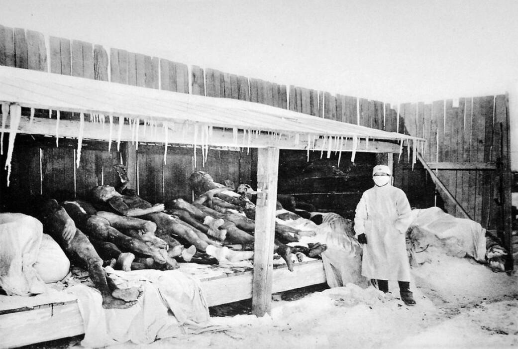 Det siste store pestutbruddet tok livet av rundt 12 millioner mennesker i India og Kina på 1900-tallet. (Foto: Ukjent / offentlig eie)