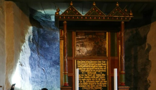 Frem fra skyggen: Skyggemalerier i norske kirkerom
