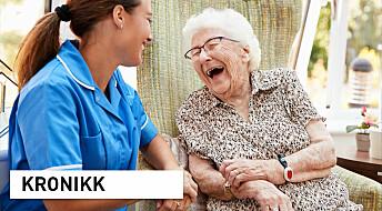 God ledelse kan gi dem som bor på sykehjem en meningsfull hverdag