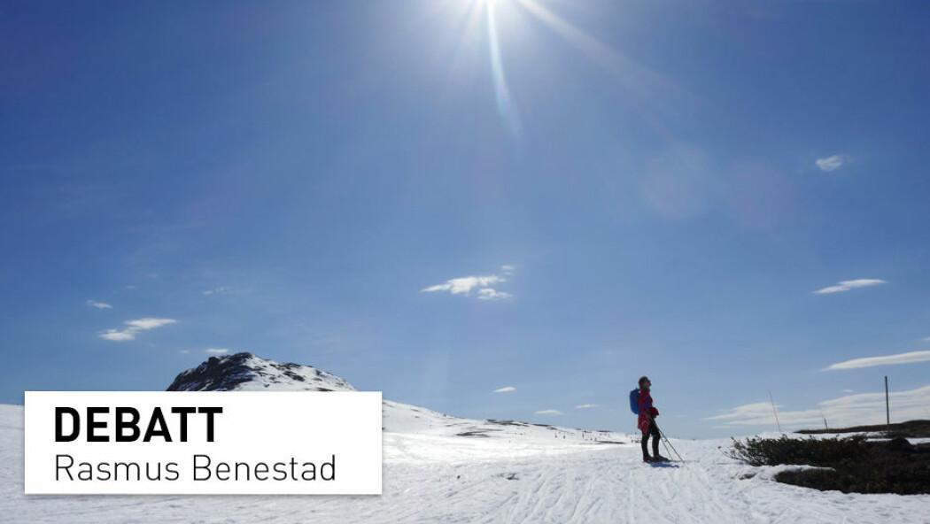– For kommende vinter tyder prognosene fra Copernicus på 10-20 prosent sannsynlighet for en kaldere vinter enn normalt, 20-40 prosent for en normal vinter, og 50-70 prosent for en mildere vinter enn normalt. Vi kan derfor ikke avskrive muligheten for en kald vinter, skriver Rasmus Benestad. (Foto: Erik Johansen / NTB scanpix)