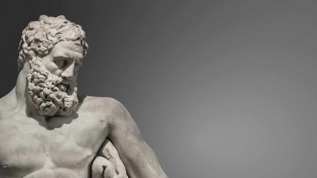 – Herkules et forbilde for mange antikke filosofer. Stoikerne betraktet ham som den store «utholderen» fordi han hadde gjennomført alle sine plikter med maksimal tålmodighet og uten å klage, skriver Silvio Bär. (Foto: Oleg Senkov / Shutterstock / NTB scanpix)