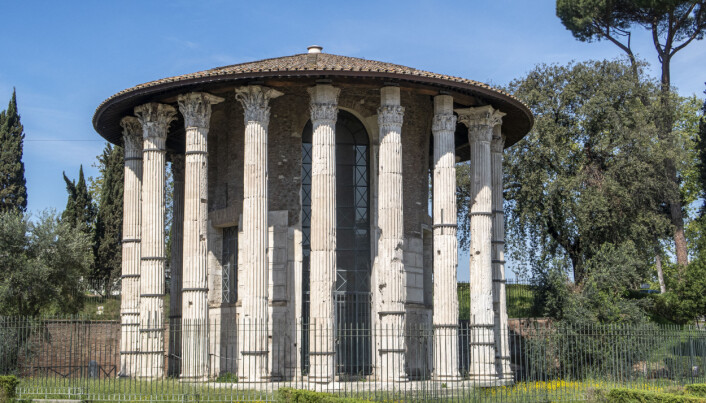 Tempelet <i>Hercules Victor</i> i Roma. (Foto: ChromosomeGun / CC BY SA 4.0 / Wikimedia Commons)