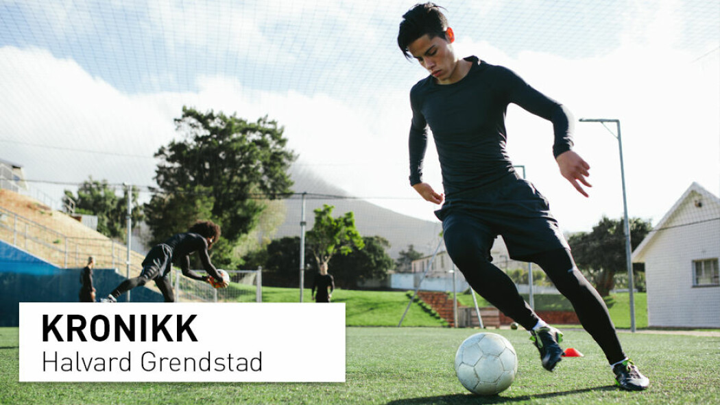 – Utvelgelse til kretslag og guttelagene til de største klubbene er en viktig vei for mange unge spillere. I Norge skjer denne utvelgelsen vanligvis når spillerne er mellom 13 og 14 år, skriver Halvard Grendstad.