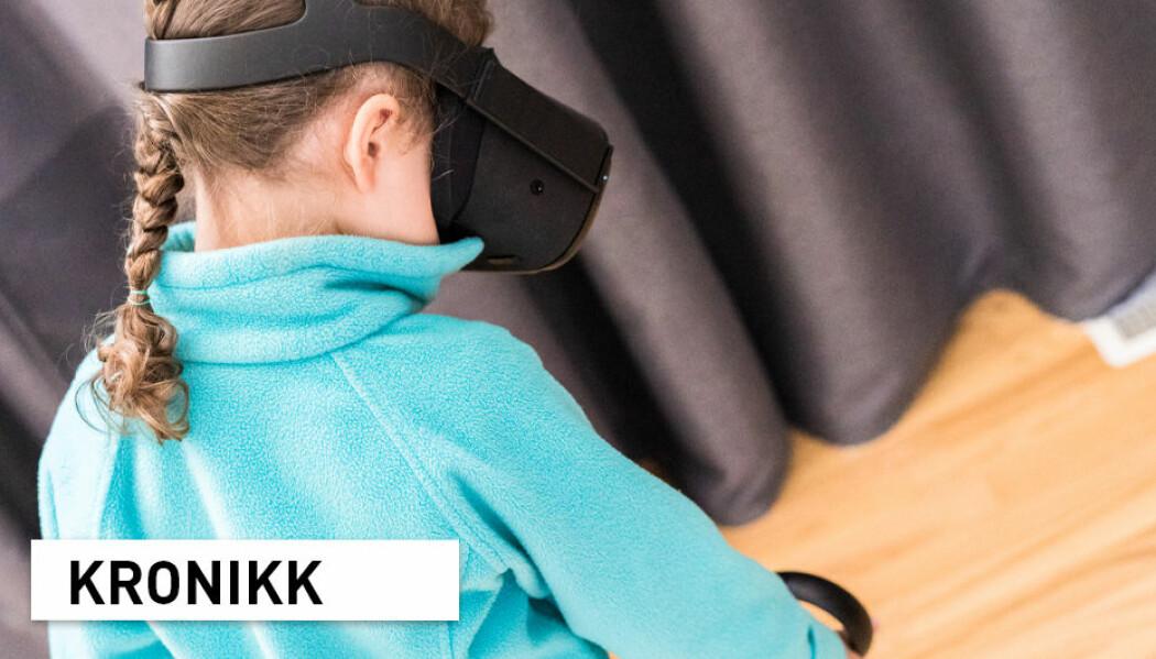 Trening på hverdagssituasjoner gjennom individuelt tilrettelagte scenarioer i Virtual Reality kan gjøre samfunnet litt mer tilgjengelig, og mindre ubehagelig for barn og unge med autismediagnoser, skriver kronikkforfatterne.