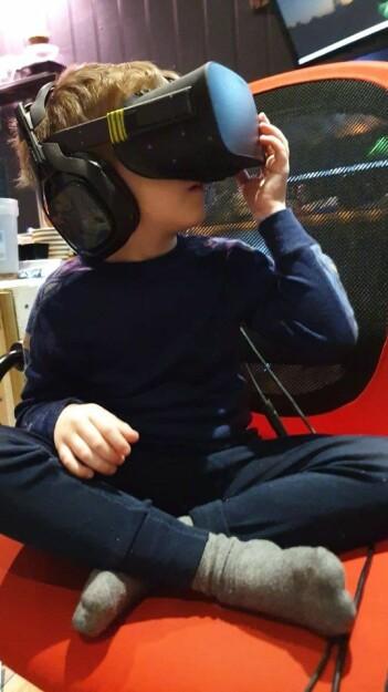 Med virtual reality kan barn med autisme trene på hverdagssituasjoner foregå litt hvor-som-helst.