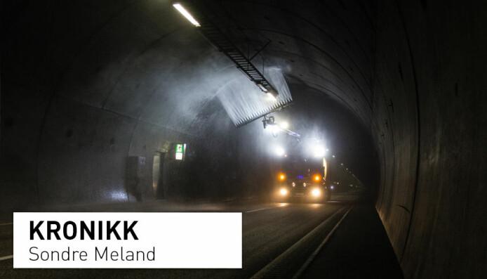 Over tusen veitunneler vaskes hvert år: Miljøgifter skylles ut med vaskevannet og ut i naturen