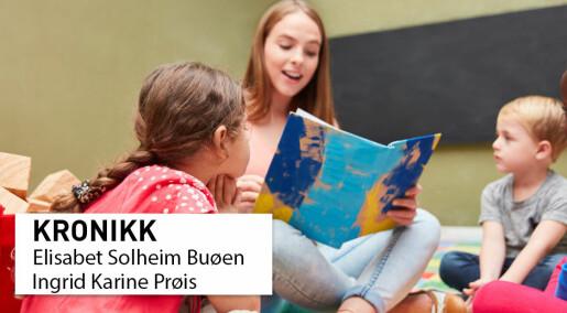 Kunnskap avgjør kvaliteten i barnehagene