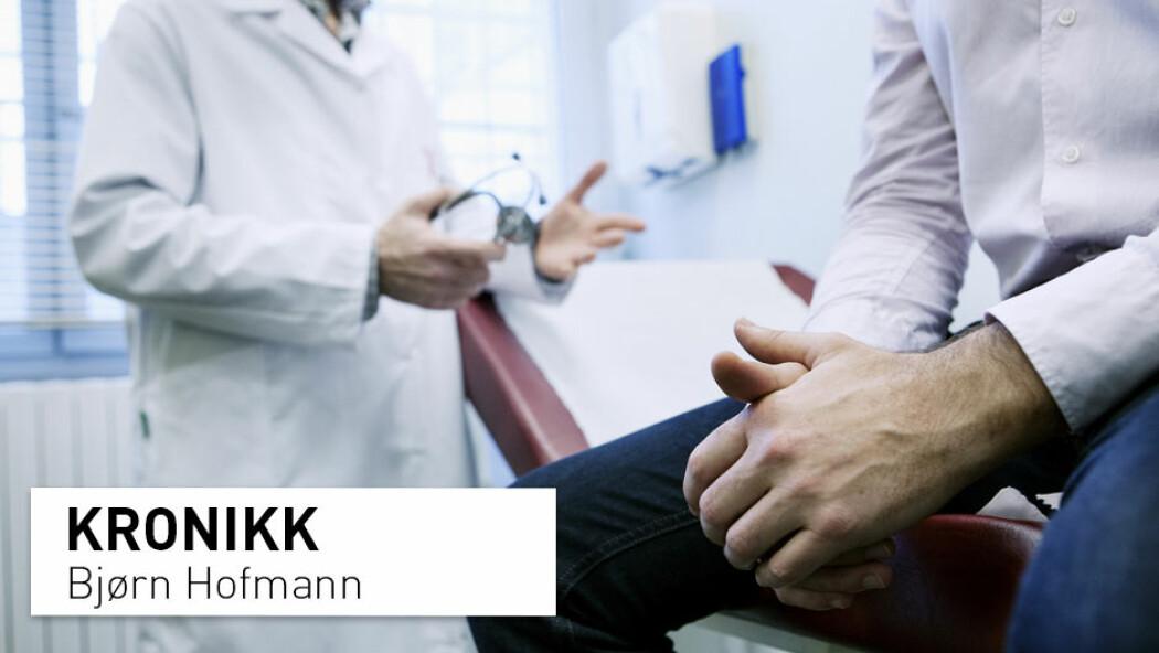 – Hvordan kan man tilbakeholde virksomme tiltak når pengene triller fritt til protonterapi? spør Bjørn Hofmann.