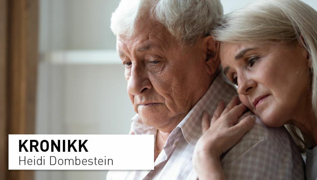 – Pårørende må føle at de bestemmer selv, at de har nødvendig kompetanse og at de blir anerkjent som en viktig del av teamet rundt pasienten, skriver Heidi Dombestein.