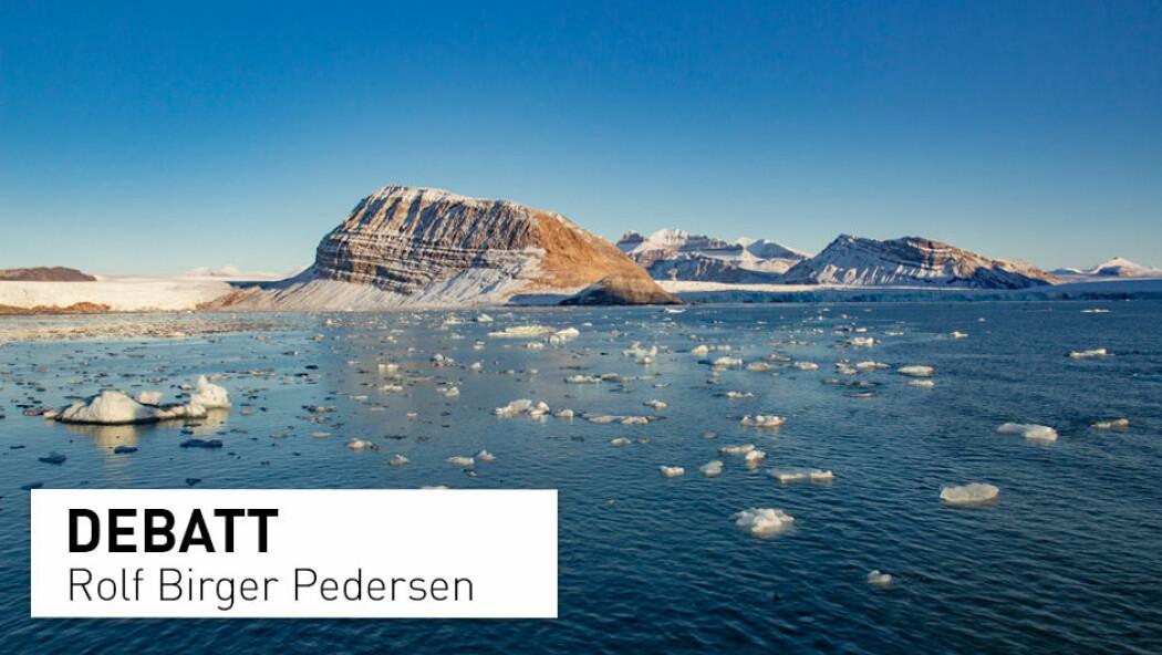 – Nyheten om at NTNU har funnet mineralforekomster for over 1000 milliarder kroner dreier seg ikke om nye kjempefunn. NTNU har aldri gjort nye funn av mineralforekomster i norske havområder. De har derimot forsøkt å anslå hvor store ressurser det kan være i disse havområdene, skriver Rolf Birger Pedersen.
