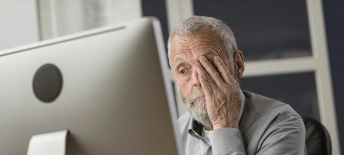 Eldre kan bli så kritiske til egne evner at de trekker seg tilbake fra jobben