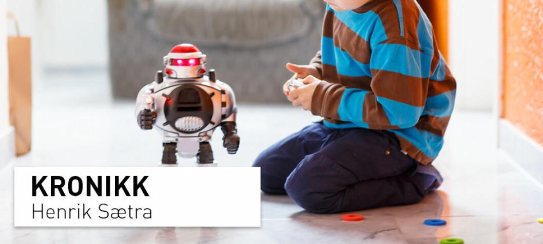 Livaktige roboter er ikke annet enn sosiale parasitter