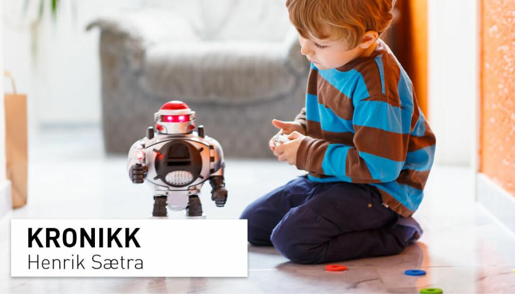 Robotene innynder seg, og får oss til å bry oss, men det er egentlig ingenting der inne i de mekaniske hodene, skriver Henrik Sætra.