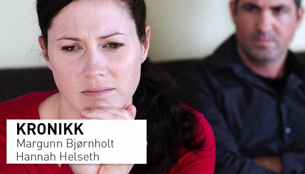Å se hvordan denne krisen rammer kvinner og menn i ulike grupper forskjellig er avgjørende for å bekjempe volden, skriver Margunn Bjørnholt og Hannah Helseth.