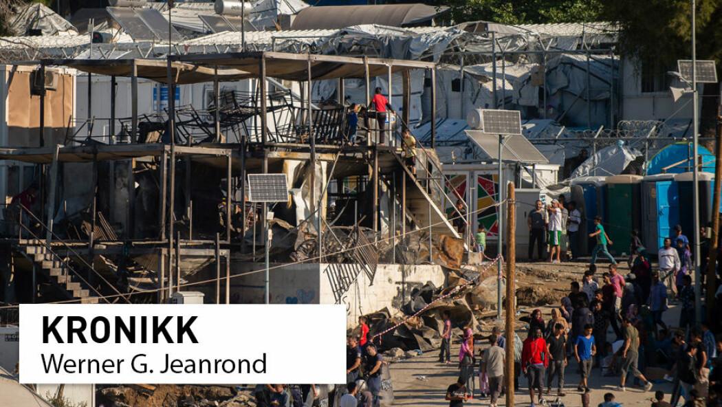 Noreg må bidra i flyktningkrisa no i korona-krisa, meiner Werner G. Jeanrond.