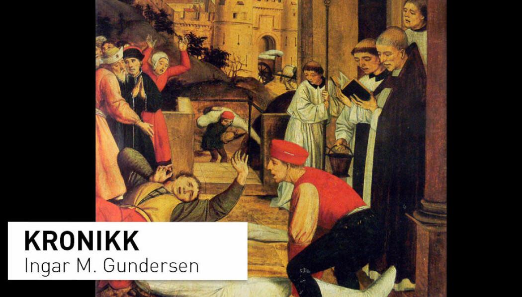 Den justinianske pesten, som herjet i 541-749, har blitt hovedforklaringen for Romerrikets fall, men hva med de langvarige utviklingstrekkene som ledet opp mot Romerrikets sammenbrudd, og det faktum at Vest-Romerriket allerede hadde opphørt å eksistere som politisk enhet?