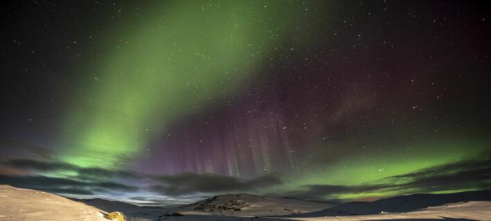 Kan framtidas nordlys vera eit varsel om ein mild vinter?