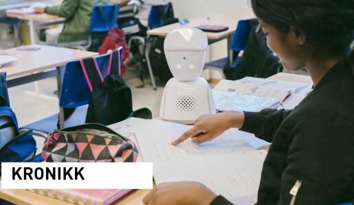 Roboter for isolerte barn:Bare en artig gimmick eller et viktig verktøy?