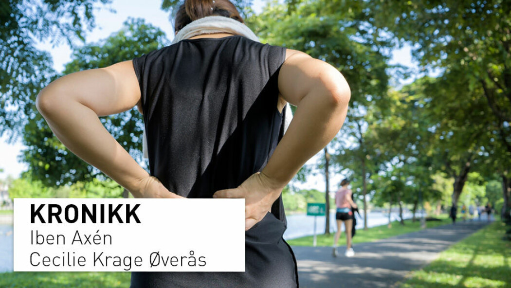 Ikke alle bør rådes til å gå tur for å forebygge rygg- og nakkesmerter