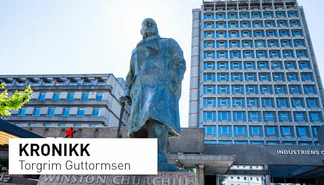 Flere har skrevet under på oppropet om å blant annet ta ned statuen av Winston Churchill. Denne debatten gir oss en mulighet til å reflektere over monumenthistorien, motivene bak oppføringer av statuer, hvem som sto bak og finansierte dem, og om de som blir ekskludert, skriver kronikkforfatteren.
