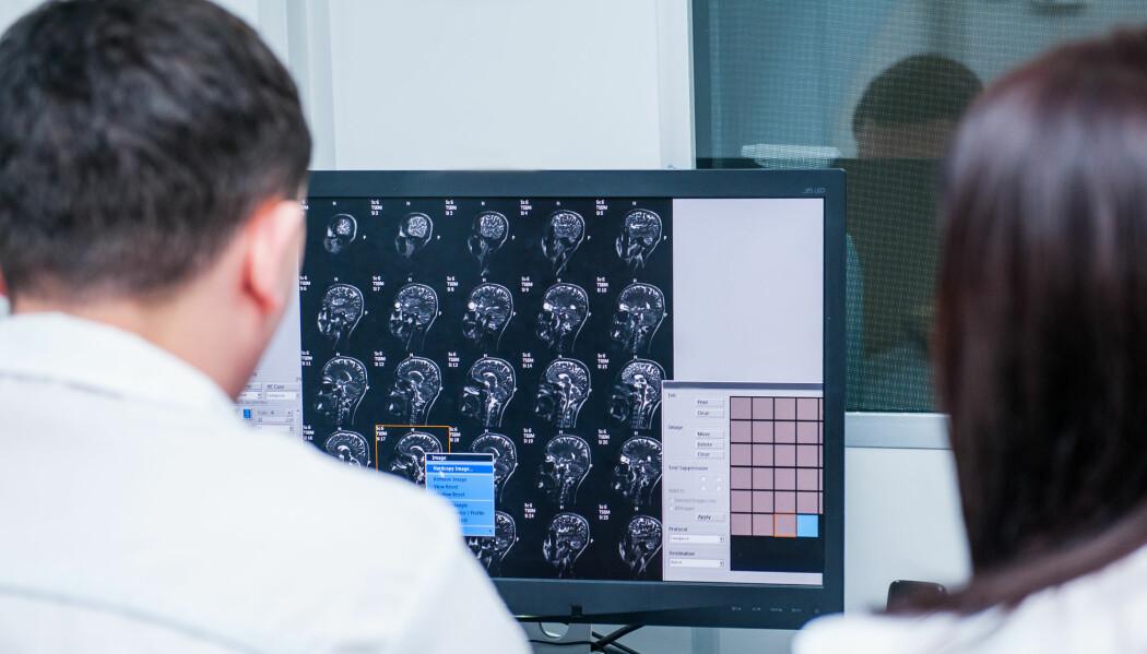 Med vanlige bilder av hjernen er det nesten umulig å skille mellom arrdannelse og en fortsatt voksende kreftsvulst. Med vanlige bilder av hjernen er det nesten umulig å skille mellom arrdannelse og en fortsatt voksende kreftsvulst, skriver Lea Starck.