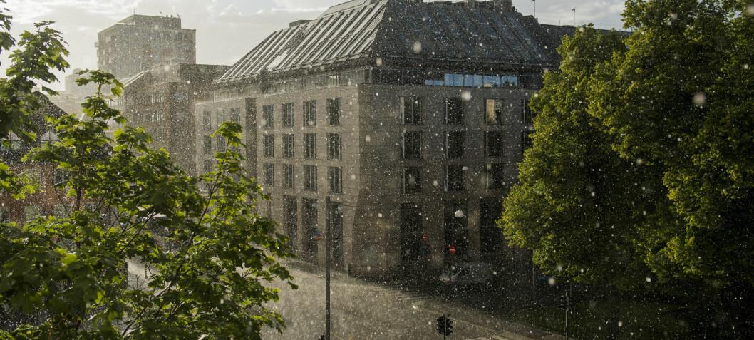 Luftforurensning sliter fortsatt på Oslo-bygg