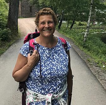 Janne engasjerte seg sterkt i studentene sine. Bildet er fra et besøk på hytta hennes sommeren 2019.