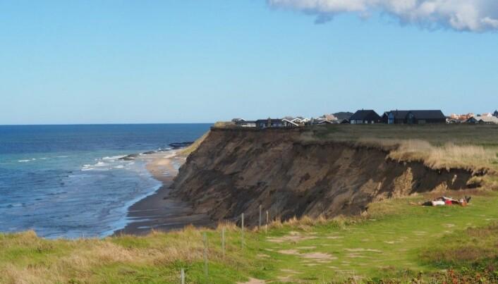 Holder den danske vestkysten på å forsvinne i havet?