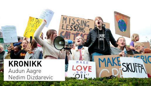 Hvorfor er norsk ungdom tause om politikk på sosiale medier?