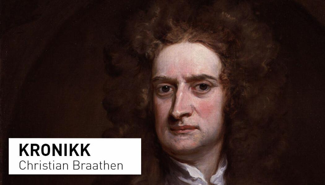 - I 1675 skrev Isaac Newton, «Hvis jeg har sett lenger, er det fordi jeg har stått på skuldrene til kjemper». Med dette mente han at forskningen hans ble muliggjort fordi han var i stand til å bruke den eksisterende kunnskapen som grunnlaget han bygget sin egen på. Det er essensielt at denne eksisterende kunnskapen er solid, skriver Christian Braathen.