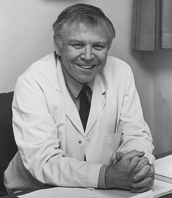 Kjell Kleppe, oppfant PCR-metoden, som gjør det mulig å måle nøyaktig hvilket virus folk er smittet av.