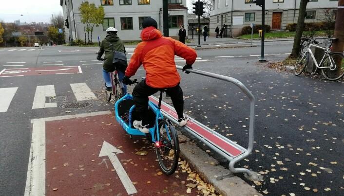 Hvorfor kan ikke syklister bare stoppe på rødt?