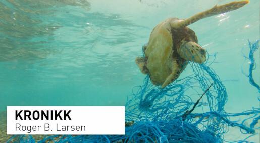 Vi skal bekjempe plastforsøpling i havet med bionedbrytbar plast