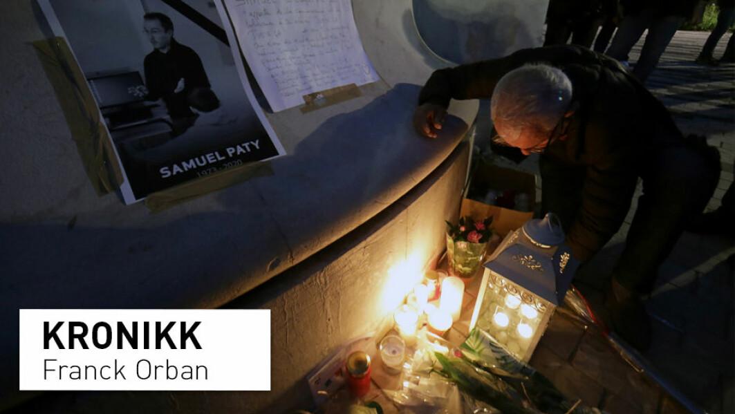– Frankrike brukte for lang tid på å ta innover seg trusselen fra radikal islamisme. Halshuggingen på åpen gate av en lærer som forfektet republikkens kjerneprinsipper, kan bli et vendepunkt, skriver Franck Orban.
