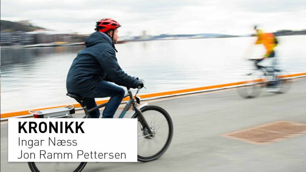 – Dessverre er antallet sykehusbehandlede sykkelskader nesten tredoblet fra 2005 til 2016, ifølge vår nye studie fra Ullevål sykehus. Dette bekymrer oss som jobber i helsevesenet, skriver Ingar Næss og Jon Ramm Pettersen.