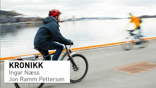 Myndighetene oppfordrer flere til å sykle, men er det trygt?