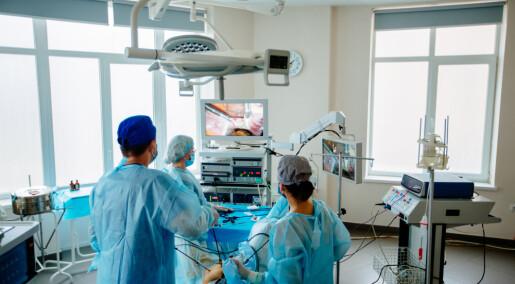 Hjernens blodtilførsel faller under kikkhullskirurgi av galleblæren