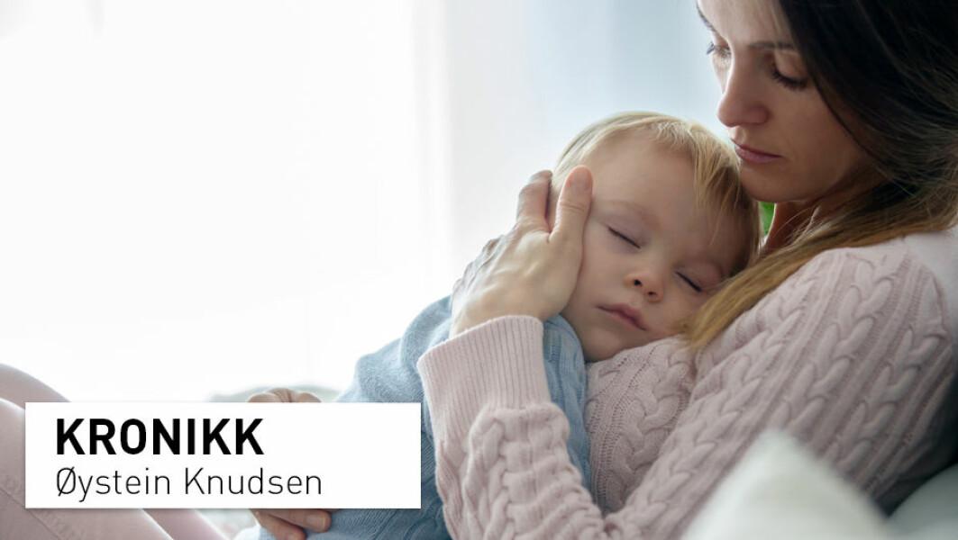 – Det er på tide at norske politikere setter barns liv og helse i fokus. Barn under tolv år må sikres kunnskapsbasert helsehjelp dersom de skulle bli syke eller av andre grunner ha behov for en medisinsk utredning, uavhengig av foreldrenes egen overbevisning, skriver Øystein Knudsen.