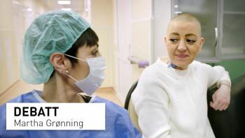 Sett med øynene til en pasient og pårørende, er Norge bakpå og negativ til nye behandlingsmetoder