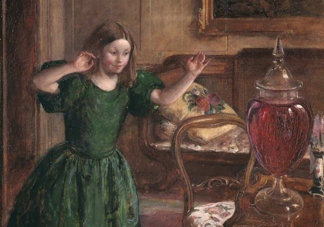 I fortellingen The Purple Jar fra 1796, får hovedpersonen Rosamund velge mellom nye sko, som hun trenger, eller en krukke hun ikke trenger. – Rosamund velger selvsagt det siste og får en rekke lærepenger med på kjøpet, skriver Janicke S. Kaasa.