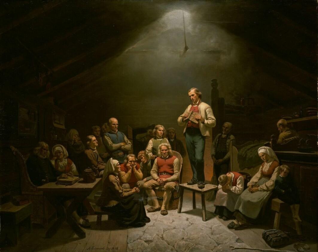 – Som landets mest leste forfatter i sin samtid, avholdt predikant og seriegründer, vandret Hans Nielsen Hauge Norge på kryss og tvers og utfordret sine etterfølgere, haugianerne, til å tenke nytt og skape virksomheter som både var lønnsomme og samfunnsnyttige, skriver Truls Liland.
