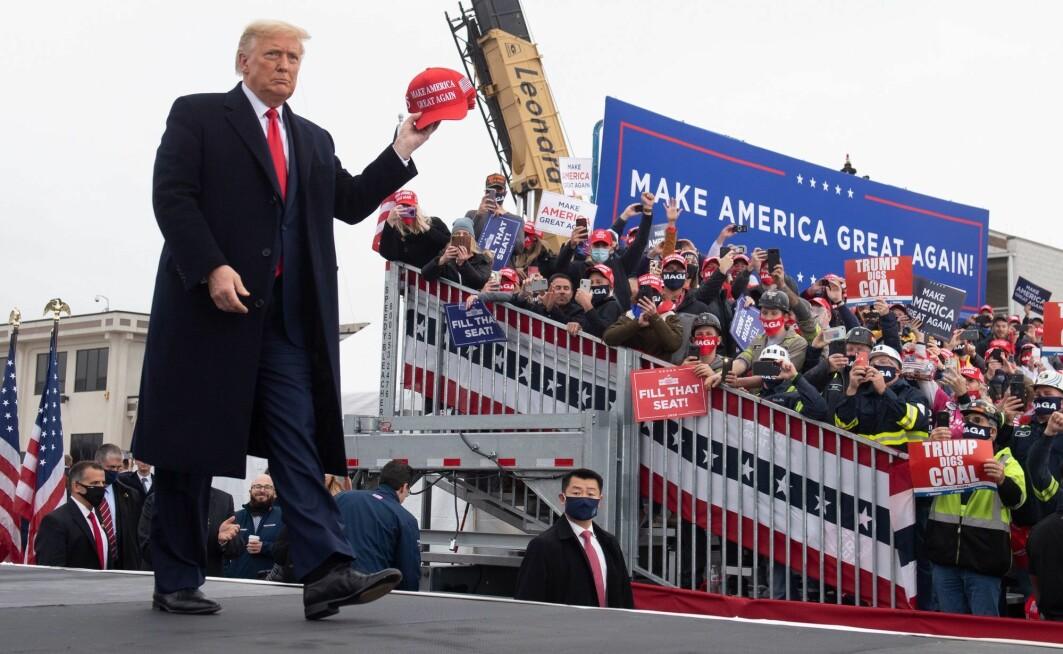 – En av grunnene til Trumps suksess, var at han visste å tale til «vi er Guds eget land, de andre er ikke det»-holdningen til enkelte hvite amerikanere, skriver Iver B. Neumann.