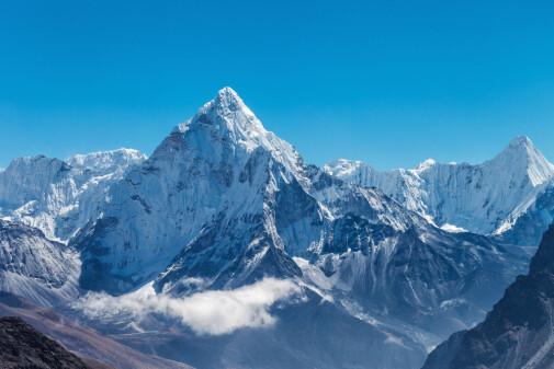 Fjell i Norge har vært over 8000 meter høye